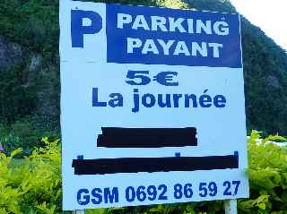Grand Galet - Parking payant