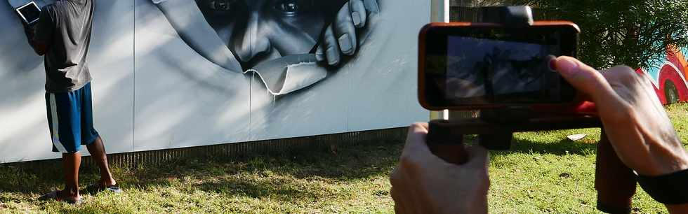 20 mai 2018 - St-Pierre - Boulevard Banks, boulevard Graff - Association Hang'Art -