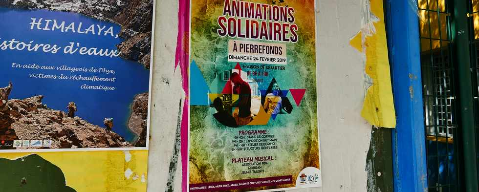 10 mars 2019 - St-Pierre - Pierrefonds - Animations solidaires -