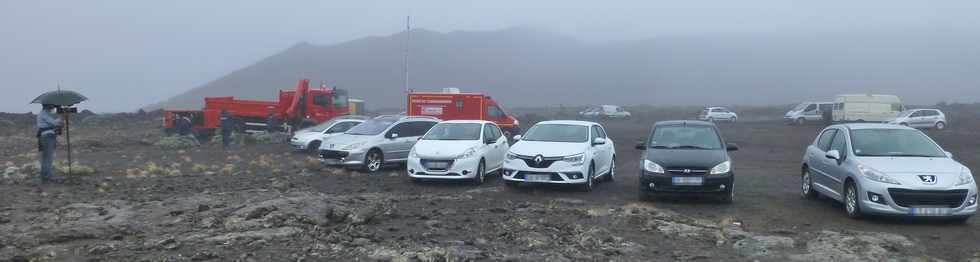 26 mai 2016 - Eruption au Piton de la Fournaise - Ile de la Réunion - Parking Foc-Foc -