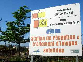 Terre Sainte - Station de réception -traitement d'images satellites