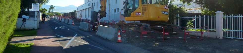 26 avril 2015 - St-Pierre - Travaux Avenue Luc Donat