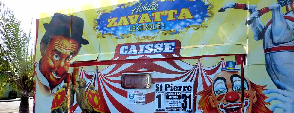 29 avril 2015 - St-Pierre - Cirque Achille Zavatta - Parking Auchan -