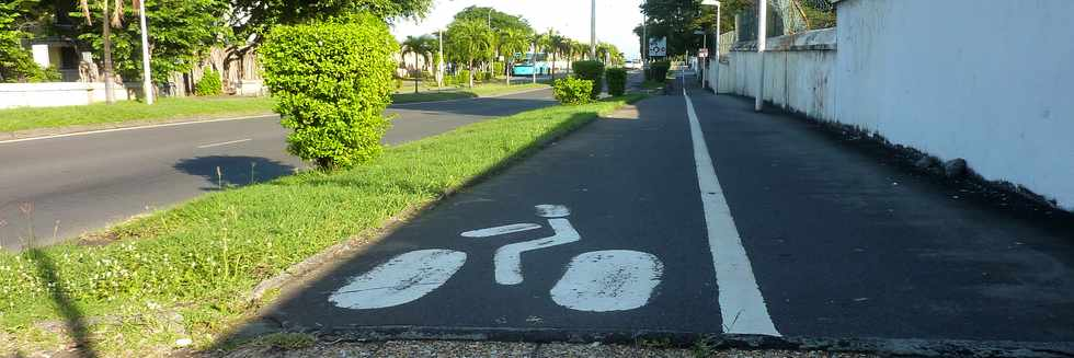 3 mai 2015 - St-Pierre - Piste cyclable boulevard Banks