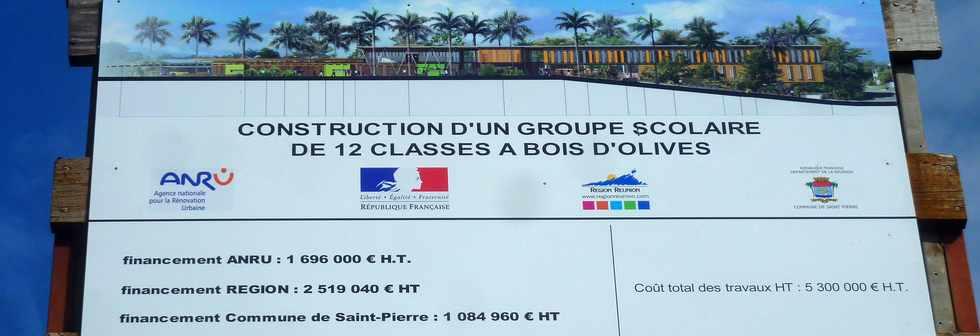 Bois d 39 olives un parc et un nouveau groupe scolaire dans for Cout piscine coque posee