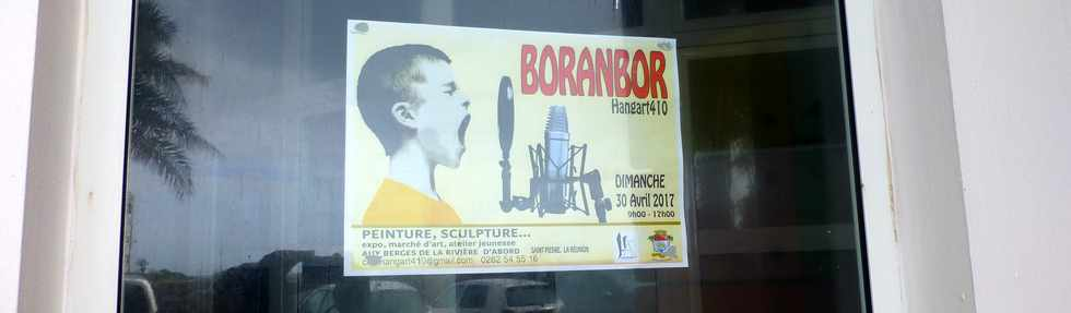 30 avril 2017 - St-Pierre - Boranbor - Hang'Art