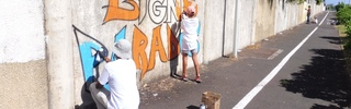 20 mai 2018 - St-Pierre - Association Hang'Art - Opération Boulevard Banks- Boulevard Graff